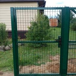 """Ворота и калитка из сварной сетки """"Гиттер 3D"""""""