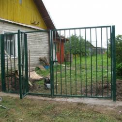 Ворота и калитка рядом