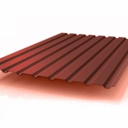 Профлист с полимерным покрытием с 1-й стороны (0,5 мм)