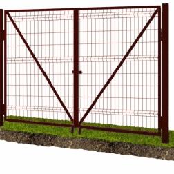 """Ворота из сварной сетки """"Гиттер"""""""