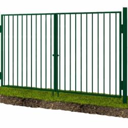 Ворота решетка