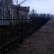 Забор сварной с пиками