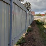 Забор из Профлиста с калиткой