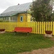 """""""Солнечный забор""""+вольер"""