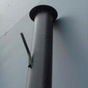 Столб с усами 2,3 м без покрытия