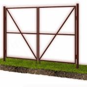 Каркас ворот для  профлиста, штакетника