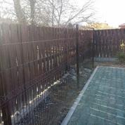 """Забор из сварной сетки """"Гиттер 3D""""+вольер"""